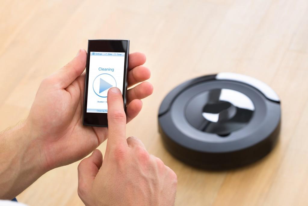 remote control app for vacuum