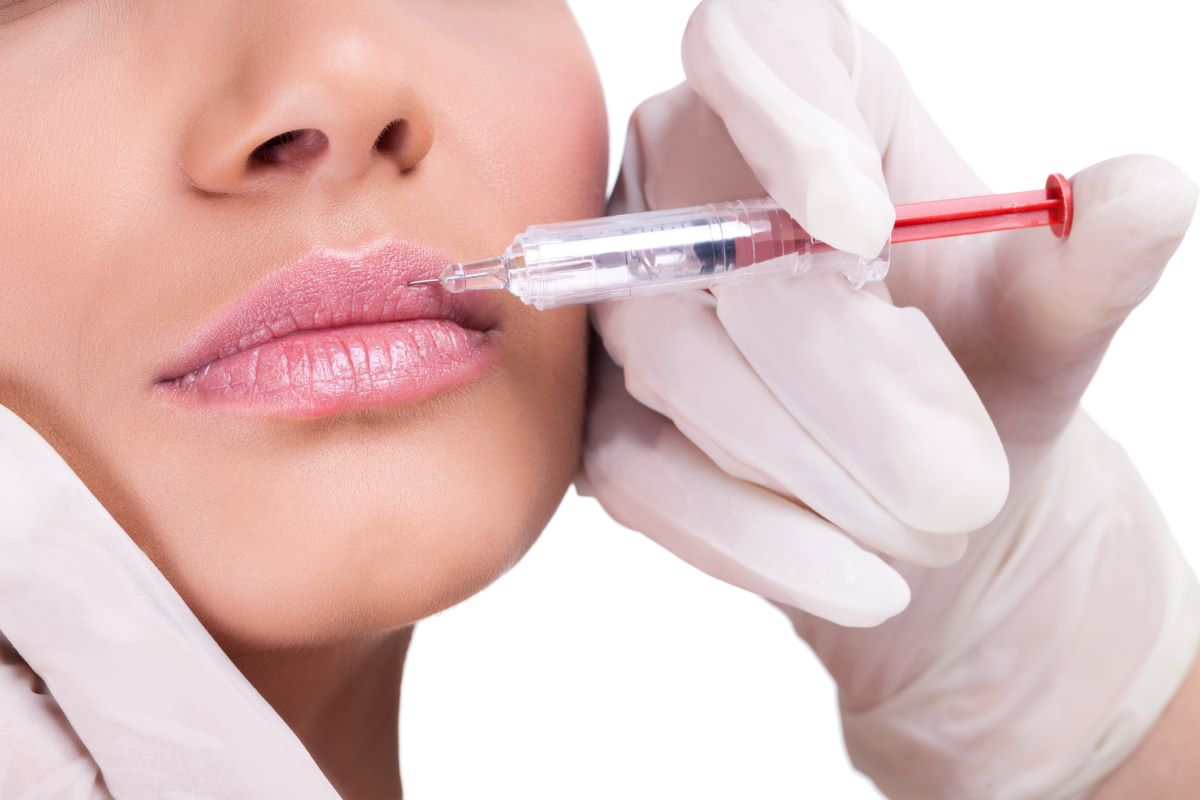 getting botox lip injection